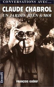 Cover of: Claude Chabrol