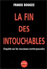 Cover of: La fin des intouchables