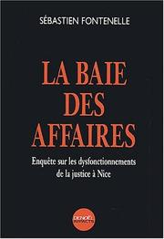Cover of: La baie des affaires