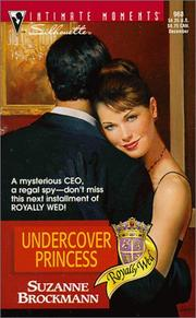Cover of: Undercover Princess (Royally Wed)