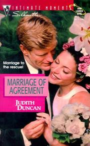 Cover of: Marriage Of Agreement (Conveniently Wed)