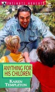 Cover of: Anything For His Children (Families Are Forever)