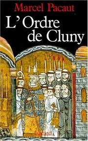 Cover of: L' Ordre de Cluny