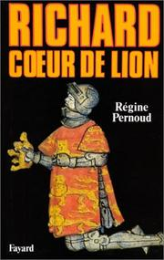 Cover of: Richard Cœur de Lion