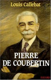 Cover of: Pierre de Coubertin