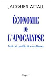Cover of: Economie de l'apocalypse