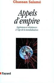 Cover of: Appels d'empire