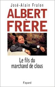 Cover of: Albert Frère