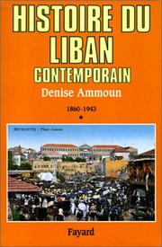 Cover of: Histoire du Liban contemporain