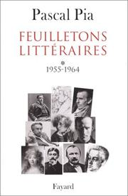 Cover of: Feuilletons littéraires