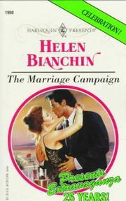 Marriage Campaign (Presents , No 1960)