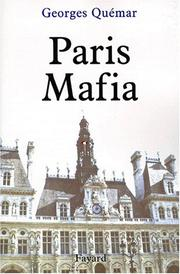 Cover of: Paris mafia