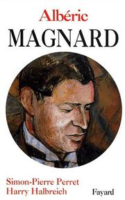 Cover of: Albéric Magnard
