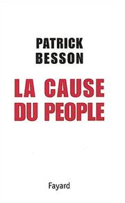 Cover of: La cause du people