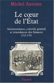 Cover of: Le cœur de l'Etat