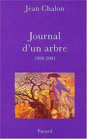 Cover of: Journal d'un arbre