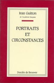 Cover of: Portraits et circonstances