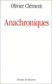 Cover of: Anachroniques