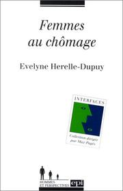 Cover of: Femmes au chômage. analyse et perspectives
