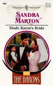 Cover of: Slade Baron