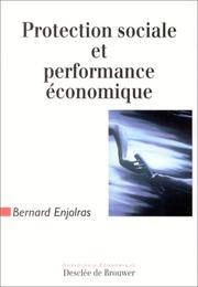 Cover of: Protection sociale et performance économique