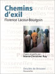 Cover of: Chemins d'exil