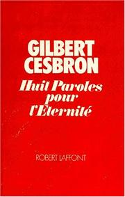 Cover of: Huit paroles pour l'éternité