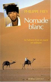 Cover of: Nomade blanc