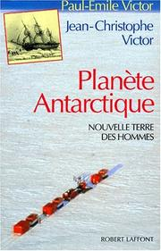 Cover of: Planète antarctique