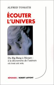 Cover of: Ecouter l'univers