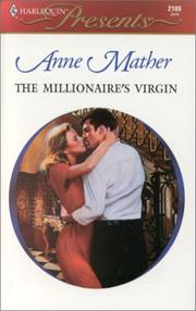 Cover of: Millionaire'S Virgin (The Greek Tycoons) (Harlequin Presents) | Mather