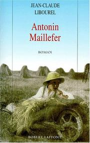 Cover of: Antonin Maillefer