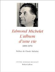 Cover of: Edmond Michelet