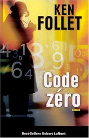 Cover of: Code zéro