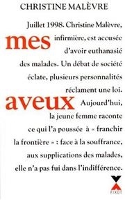 Cover of: Mes aveux