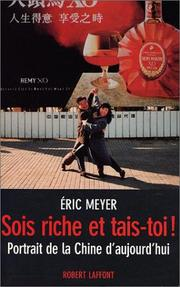 Cover of: Sois riche et tais-toi!