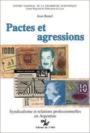 Cover of: Pactes et agressions