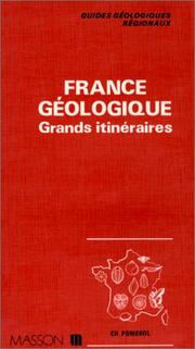 Cover of: France géologique