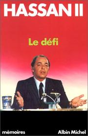 Cover of: Le défi