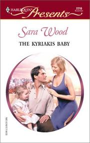 Cover of: Kyriakis Baby (Greek Tycoons) by Sara Wood