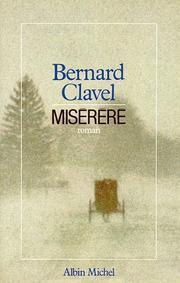 Cover of: Miserere