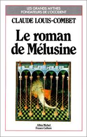 Cover of: Le roman de Mélusine