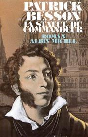 Cover of: La statue du commandeur