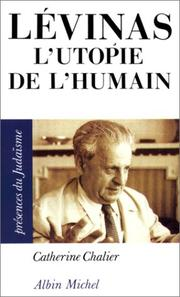 Cover of: Levinas