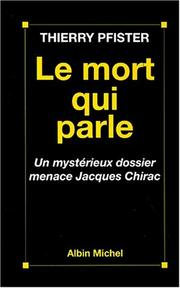 Cover of: Le mort qui parle