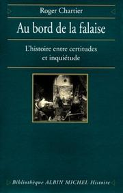 Cover of: Au bord de la falaise