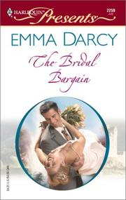 Cover of: The Bridal Bargain  (The Kings Of Australia) | Emma Darcy