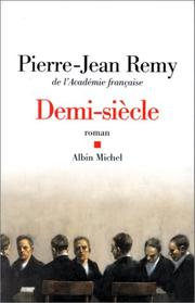 Cover of: Demi-siècle
