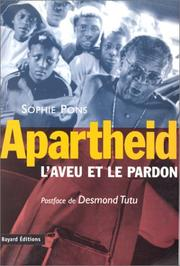 Apartheid by Sophie Pons