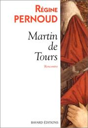 Cover of: Martin de Tours